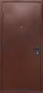 Дверь входная Готовая С-3 внешняя сторона фото magnat.kh.ua
